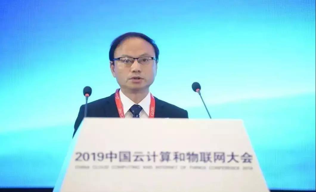 工业和信息化部党组成员、总工程师、中国电子学会理事长 张峰